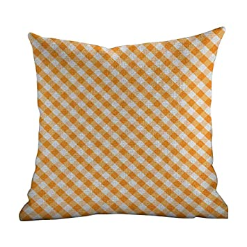 Amazon.com: Matt Flowe - Funda de almohada a cuadros, diseño ...