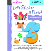 Let's Sticker and Paste! Amazing Animals