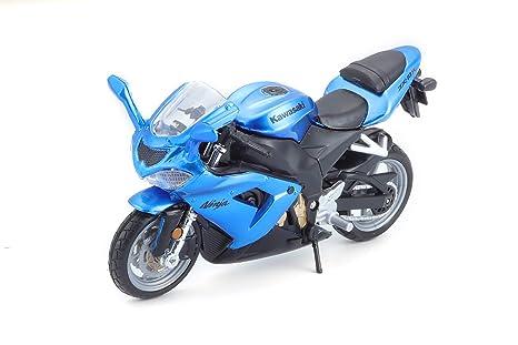 Buy Bburago Kawasaki Ninja Zx 10r Met Blue Online At Low Prices In