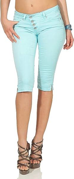 Buena VistaDamen Sommer JeansMalibu CapriStretch TwillKurze Hose
