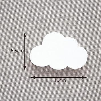 KUYIYILO,Creativa Forma Nube De Madera Perchero Colgador ...