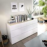 IKEA ASIA Kullen - Cajonera (3 cajones), Color Blanco ...