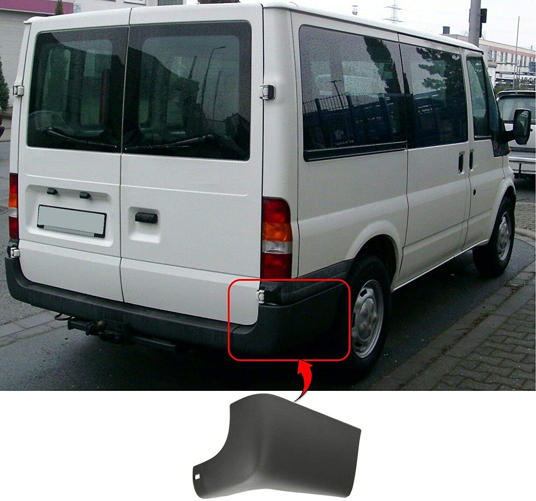 Trade Vehicle Parts FD1061 Rear Bumper Corner Cap Driver Side Not Lwb Models Compatible With Transit Mk6 2000-2006