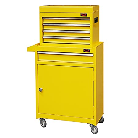 Dirty Pro Toolstm Medium Tool Chest With Drawer Dividers Top Cabinet