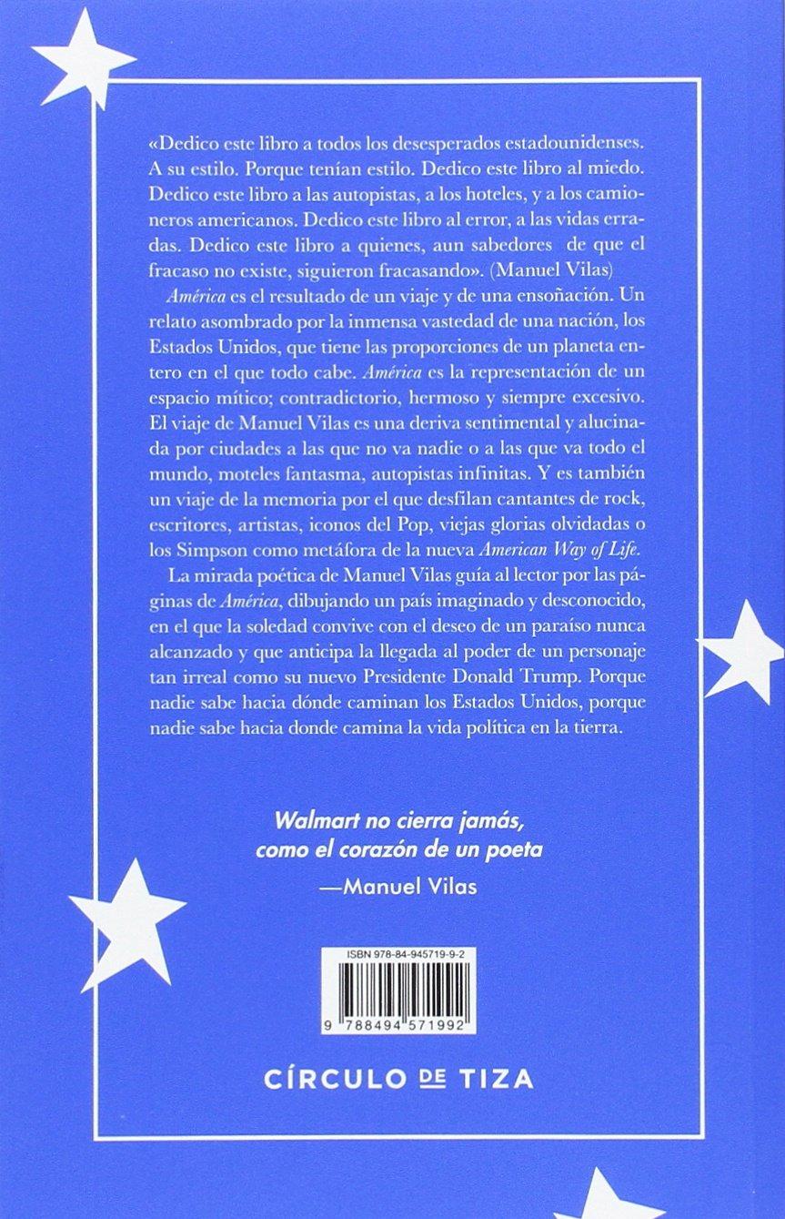 América: Amazon.es: VILAS, MANUEL: Libros