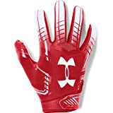 Under Armour boys F6 Youth Football Gloves Red