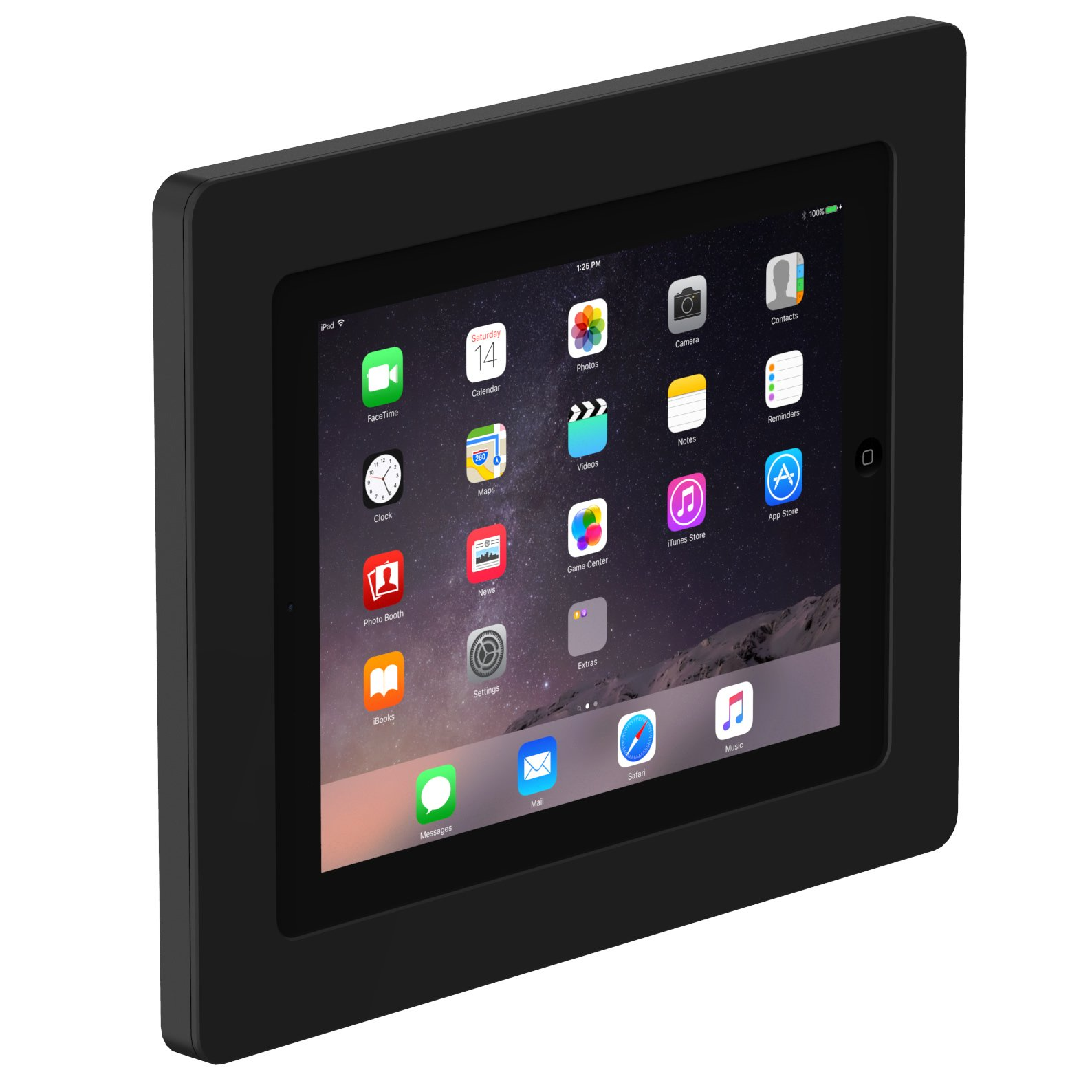 VidaMount On-Wall Tablet Mount - iPad 2/3/4 - Black