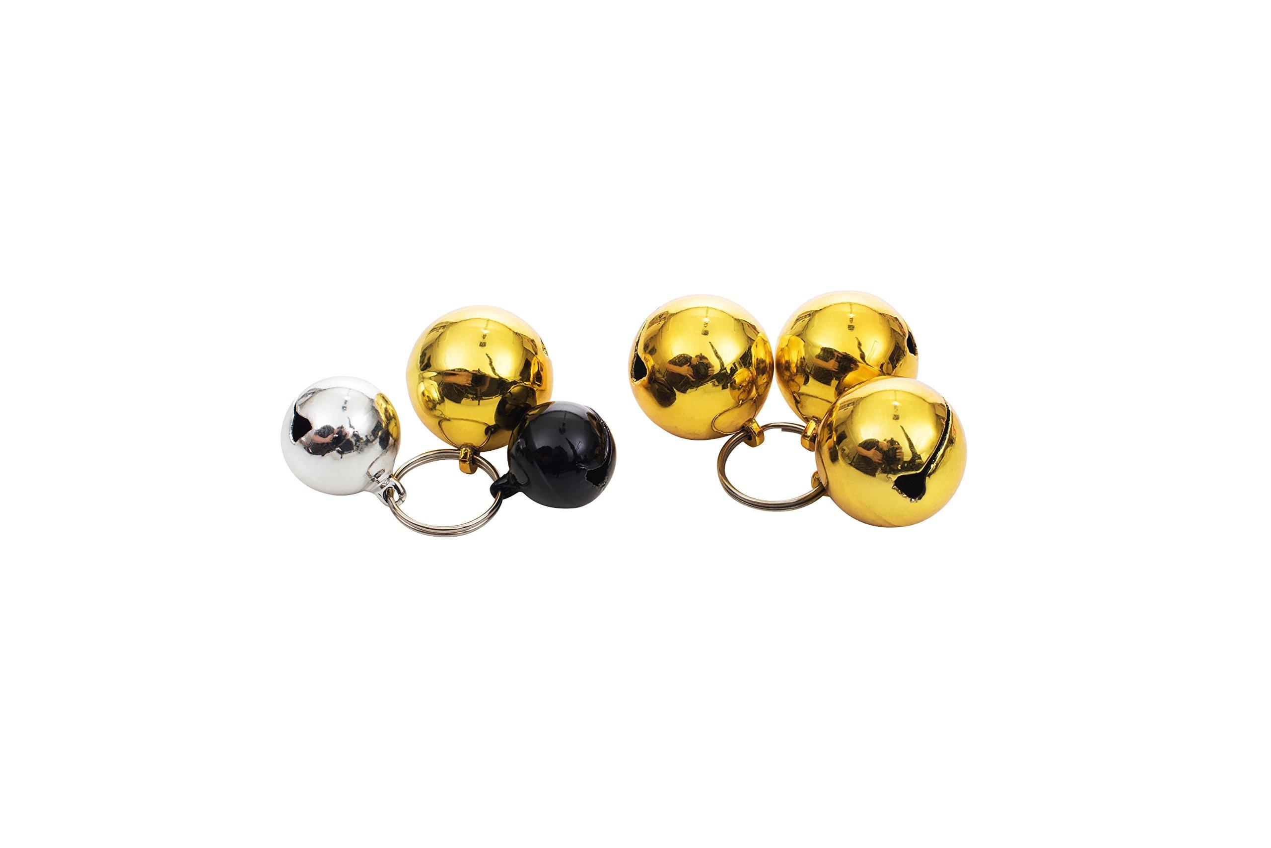 Dog Bells (12 Pack) Strongest & Loudest Dog Collar Bells by Muzitao