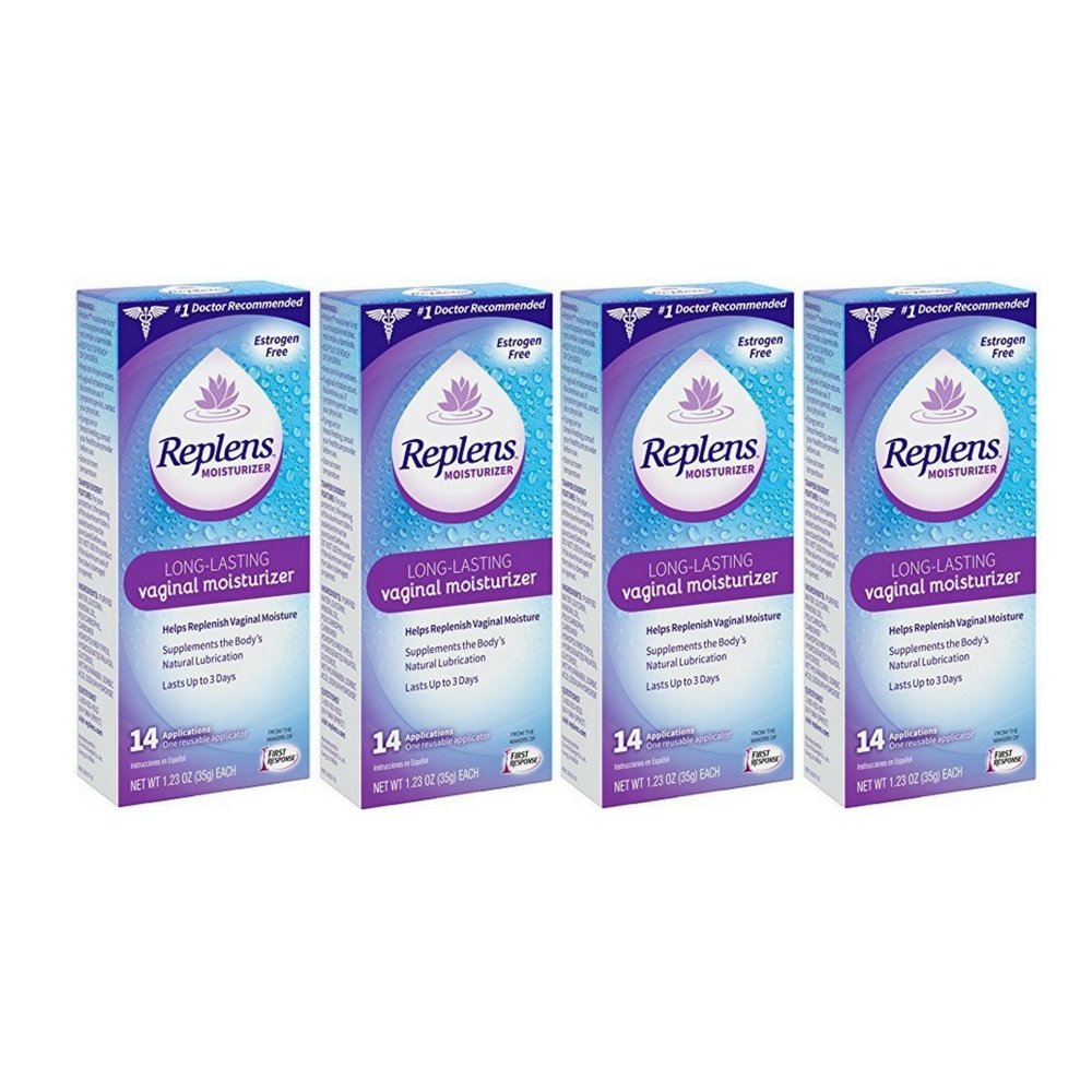 Replens Long-Lasting Vaginal Moisturizer, 14 Count by Replens (4 Pack)