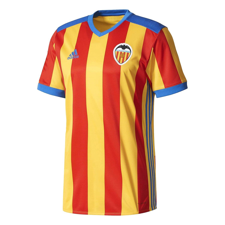 adidas Vcf A JSY Camiseta 2ª Equipación Valencia CF 2017-2018, Hombre, Rojo, XS: Amazon.es: Ropa y accesorios