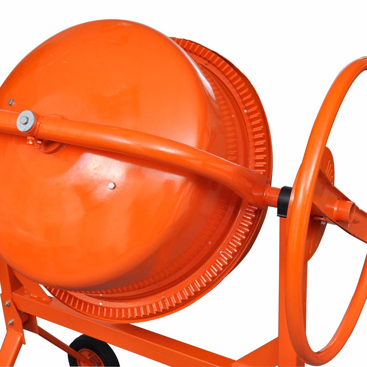 vidaXL Betonmischer 140L Betonmischmaschine M/örtel Mischmaschine Zementmischer