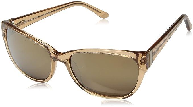 d8ad0d22c6 Oscar by Oscar De La Renta Women s Ssc5138 Cateye Sunglasses Neutral  Crystal 56 mm