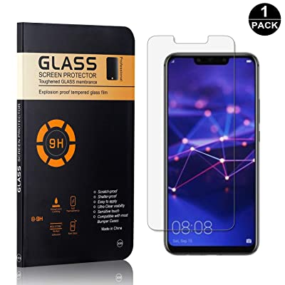 Screen Protector for Huawei Mate 20 Lite, Bear Village 9H Tempered Glass Screen Protector, Drop Fall Protection Screen Protector Film for Huawei Mate 20 Lite, 1 Pack: Baby