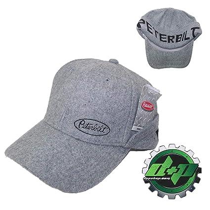 Amazon.com  Peterbilt semi Diesel Trucker hat Cap pete Ball Gear ... a532726ce55d