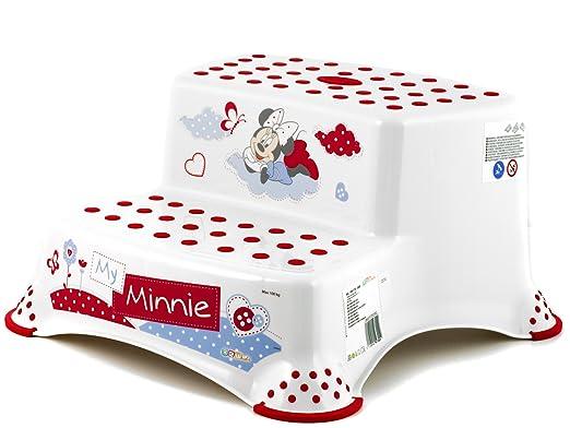 30 opinioni per OKT Disney Minnie Sgabello Baby 2 Gradini, Bianco