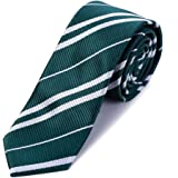 MISS FANTASY Cosplay Tie Birthday Party Costume Accessory Necktie for Halloween Party (Green)