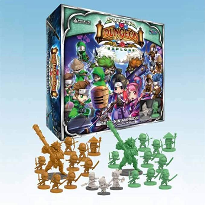 Super Ninja Ambush Deluxe Warband by Ninja Division: Amazon ...