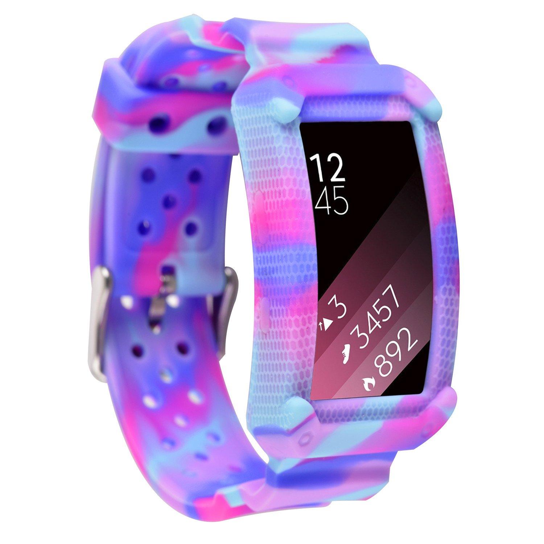 Greatfine Samsung Gear Fit2 Correa, muñequera Deportiva Watch Band ...