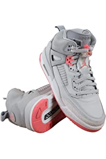 2dd17fb1ad61 Jordan Spizike Wolf Grey Sun Blush (Big Kid) (8.5 M US Big