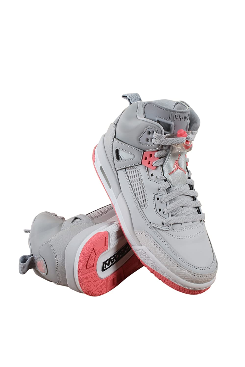 best service 355da e1bf6 Jordan Grade School Spizike (4 M US Big Kid, Wolf Grey Sunblush Pure  Platinum)  Jordan  Amazon.com.au  Fashion