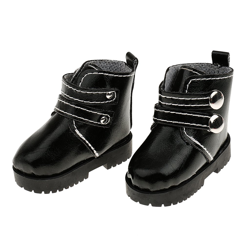 Accesorios de Ropa Fashion Par de Zapatos de Tobillo Cargadores de Martin para SUB 1//3 1//4 SD BJD Mu/ñecas Negro