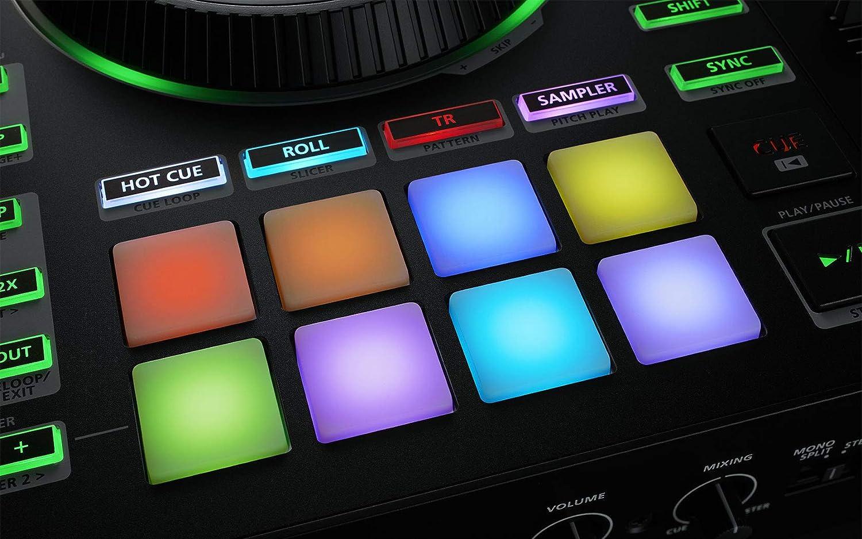 Roland DJ-505 Controller Dj 4 Deck per Serato Dj
