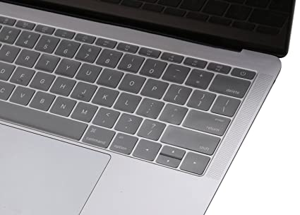 premium selection 0a332 774a6 Oaky Keyboard Protective TPU Skin Cover for MacBook Pro 13-inch Without  Touch Bar 2016/2017 A1708 and A1534 12 inches (Clear)
