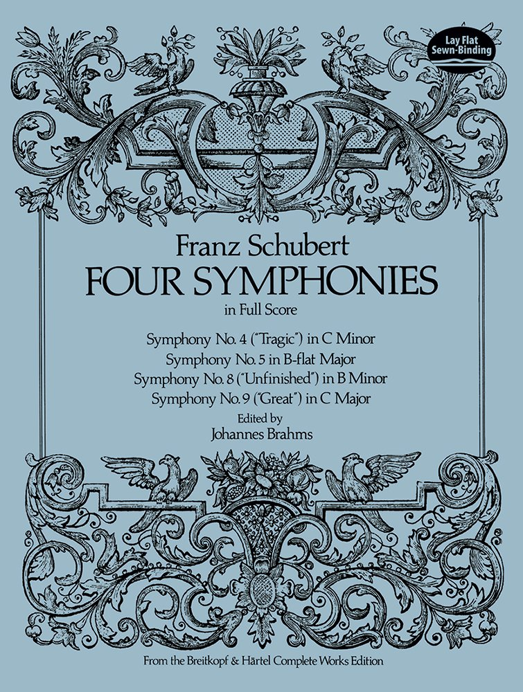symphonies nos 3 4 and 5 in full score dover music scores