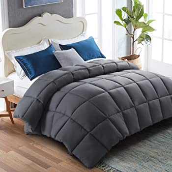 Warm Harbor Reversible Down Alternative Quilted Comforter