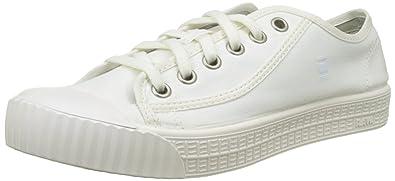 G-STAR RAW G-Star Herren Rovulc Hb Mid Hohe Sneakers, Weiß (White 110), 46 EU