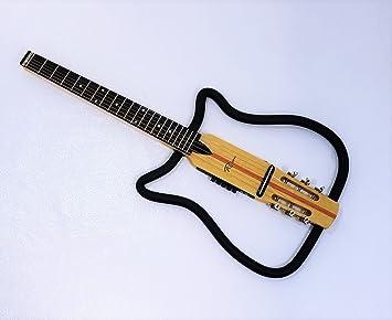 Silencioso eléctrica cuerdas de acero de guitarra: Amazon.es ...