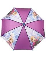 Parapluie enfant fille La reine des neiges Violet/bleu diamètre 65cm
