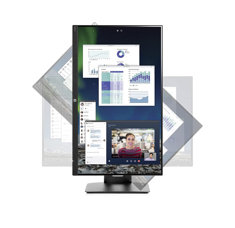 HP VH240a 23.8 Full HD IPS Negro Pantalla para PC 60,5 cm Monitor , 1920 x 1080 Pixeles, LED, 5 ms, 250 CD//m/², Negro 23.8