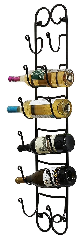 Com Decobros Wall Mount Multi Purpose Towel Wine Hat Rack Bronze Home Kitchen