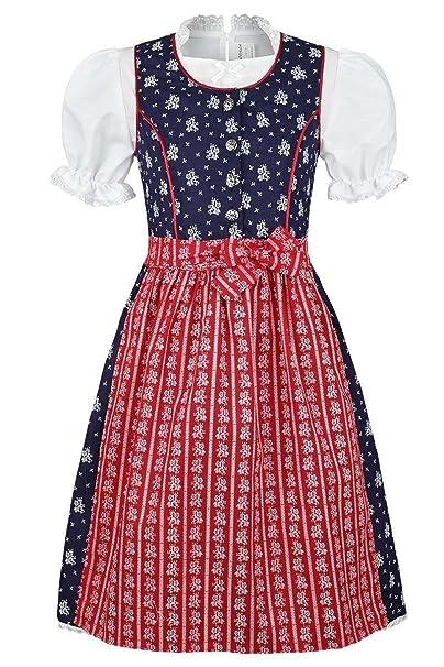 Coala - Vestido para niña de tirolesa con lunares: Amazon.es ...