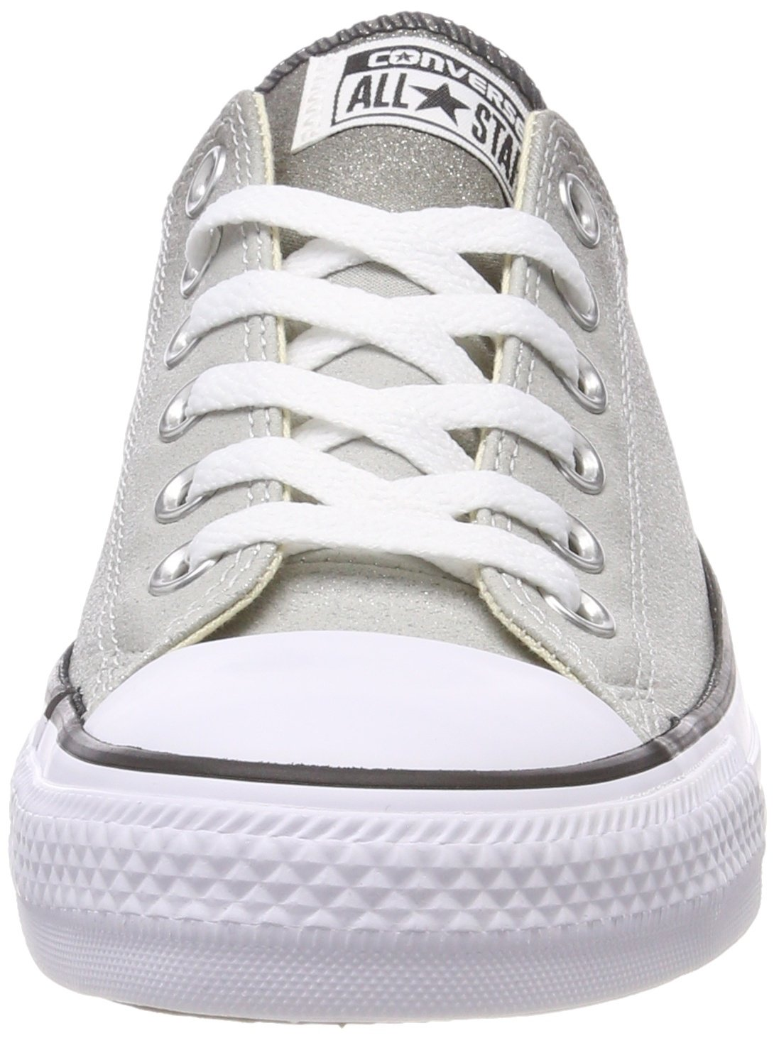 Converse Womens Chuck Taylor All Star Ombre Metallic Sneaker B07367KHMS 4.5 D(M) US / 6.5 B(M) US|Ash Grey/Black/White