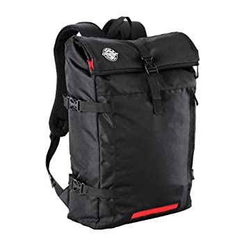 Aquabourne EOS Commuter Cycling Backpack with integrated LED safety light  (Black) 3a037ff1aecdc