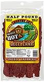 Buffalo Bills 8oz Double Habanero Country Cut Beef Jerky Pack (moist & tender really hot beef jerky)