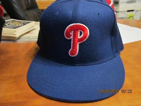 Blue PHILADELPHIA PHILLIES Vintage New Era 59 50 BASEBALL CAP HAT 7