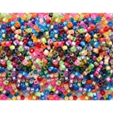 Playbox Kongo and Letters Plastic Beads (1000 Pieces)