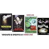 DARIO ARGENTO Tenebre - Il Gatto a Nove Code - L'Uccello dalle Piume Cristallo - Phenomena (4 Dvd)