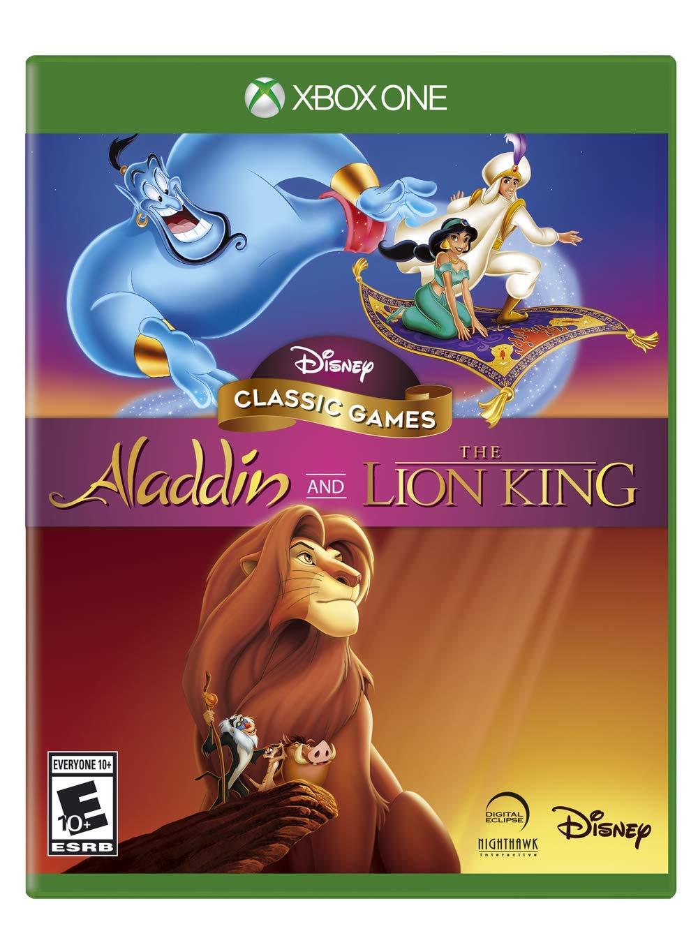Amazon com: Disney Classic Games: Aladdin and the Lion King