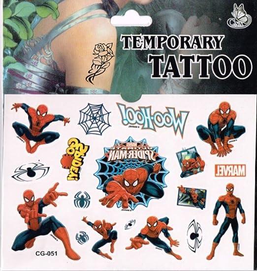 Pegatinas Con Tatuajes una hoja (SPIDER-MAN) relleno piñata ...