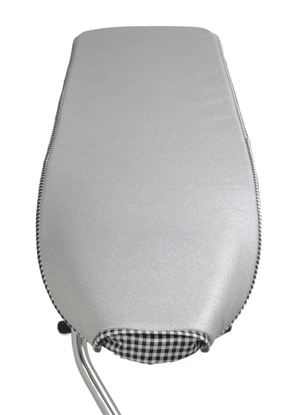 Mabi 702 KETTLER Alu-Bügelauflage LxB 138 x 38 cm Bügeltuch für KETTLER Bügeltische Baujahr 1960-2011 (siehe Bilder)