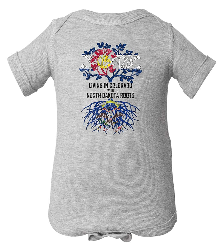 Tenacitee Babys Living in Colorado North Dakota Roots Shirt