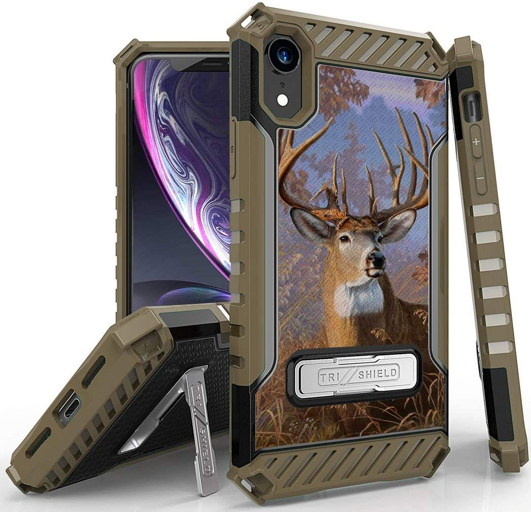 Amazon.com: Case for iPhone XR, Big Buck Whitetail Deer Outdoor ...