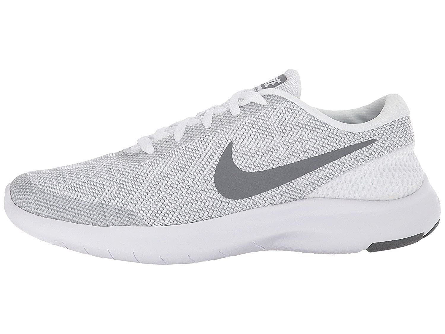 51c2b6071ee7d Nike Womens Flex Experience Rn 6 Low Top Lace Up Running, White, Size 8.5