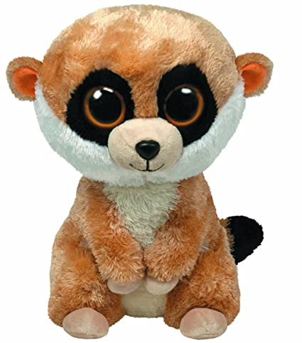 Amazon.com  Ty Beanie Boos Buddies Rebel The Meerkat  Toys   Games 02ce41cfd95