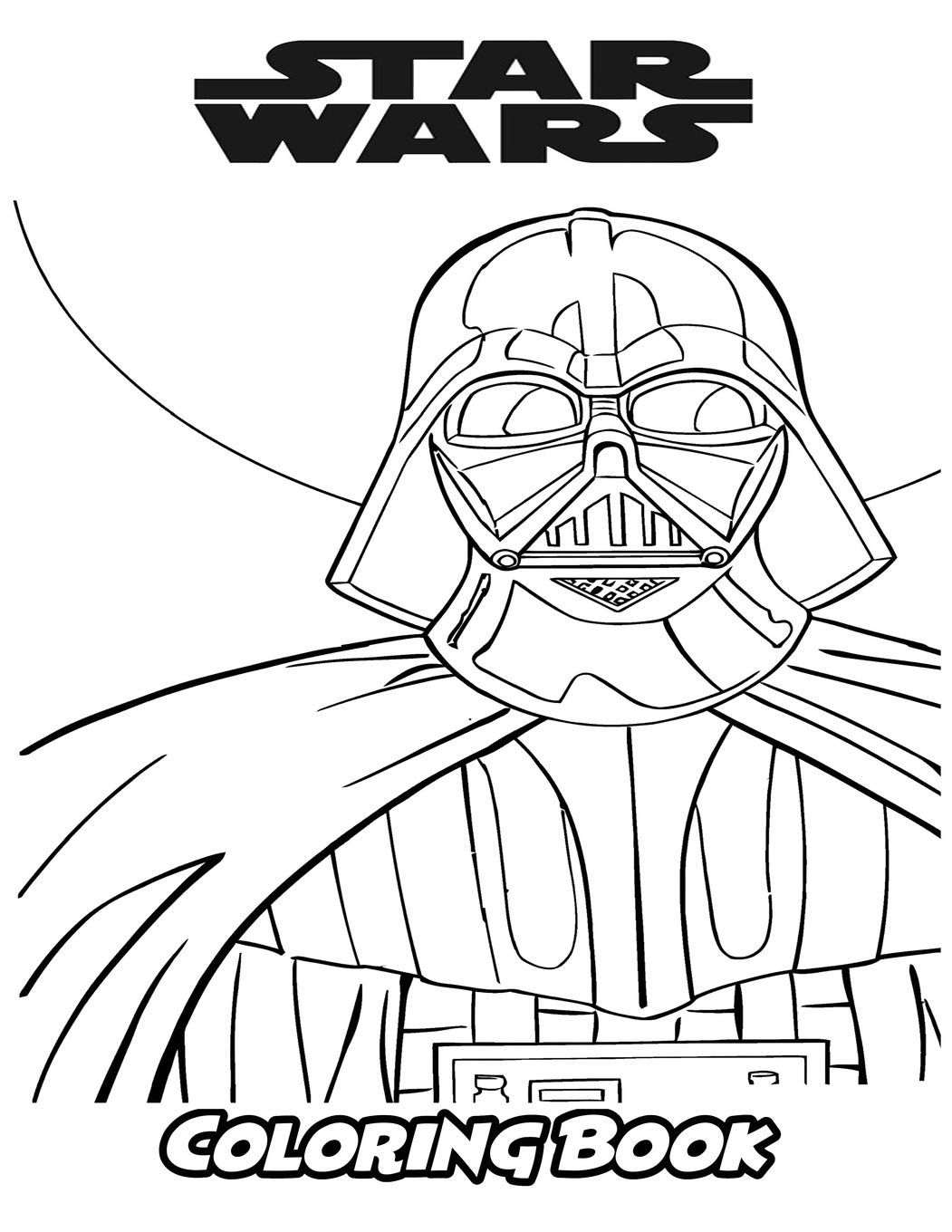 Star Wars Coloring Book Coloring Book For Kids And Adults