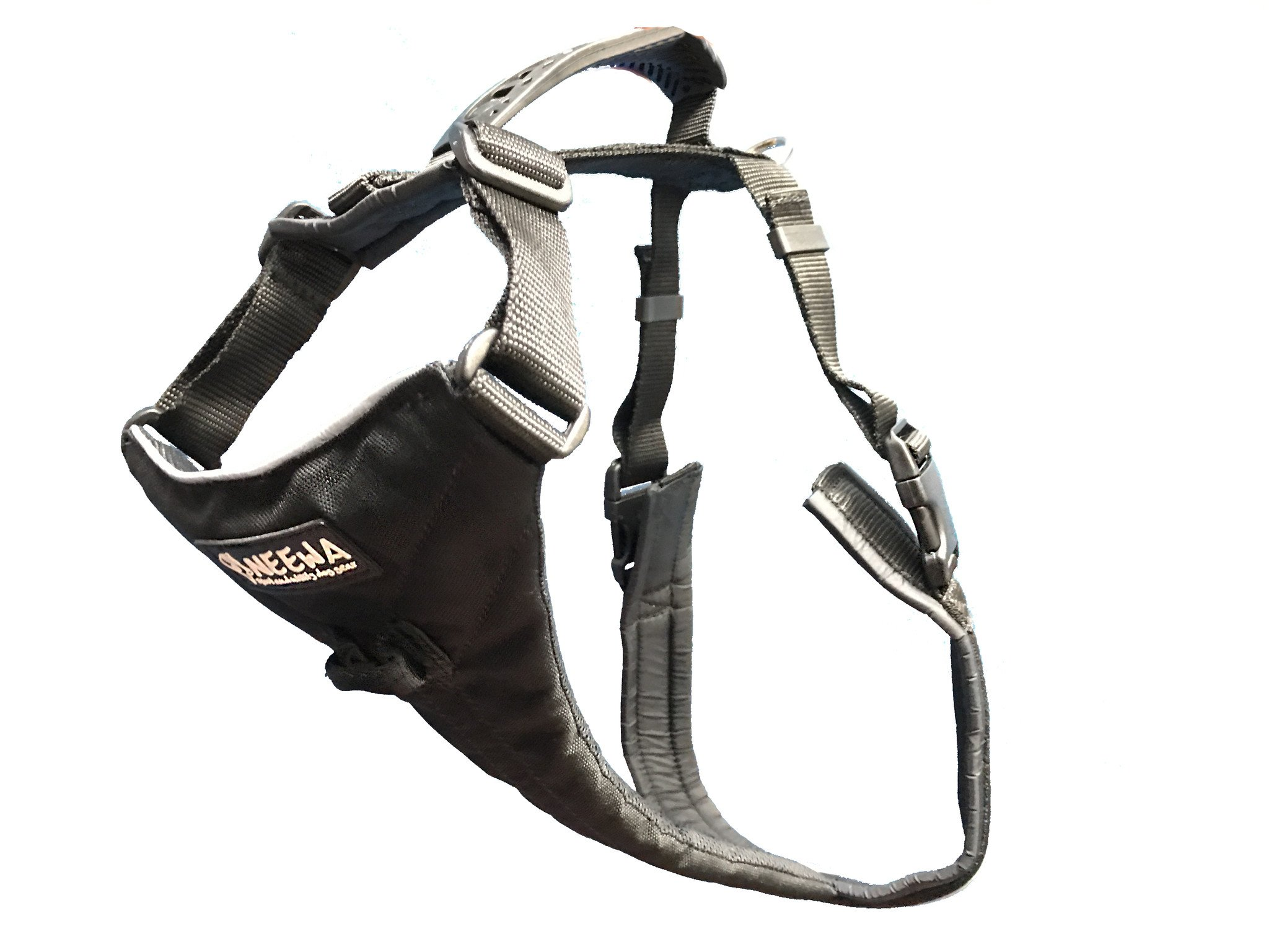 No Pull Easy Walk Dog Harness, Ideal to Walk Large Dogs (Large, Black)